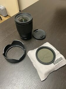 Sigma 16mm F1.4 DC Lens for Sony E Mount + ND Filter