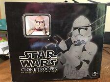 Star Wars Gentle Giant Clone Trooper Deluxe Collectible Bust 13123/15000