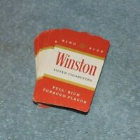 Winston Cigarettes Playing Cards