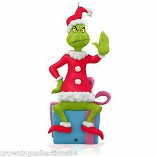 2015 Hallmark Grinch Peekbuster Ornament How The Grinch Stole Christmas Dr Seuss