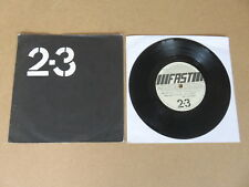 "2-3 All Time Low / Where To Now FAST PRODUCT 1978 UK 1st pressing vinyl 7"" FAST2"