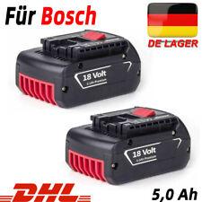 2X BAT618 Für Bosch Akku Ersatzakku GBA 18V 5,0 Ah GSR GSB 18Volt  BAT609 BAT620