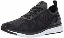 Reebok Print Smooth Black Athletic Sneakers Mens Athletic Shoes Size 8 (213529)