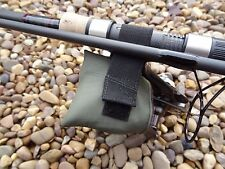 Peak angling products Reel handle protector strap green fabric carp fishing