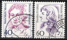 BUND Nr.1331/32 Freimarken Frauen 1987, gestempelt