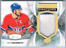 2015-16 UPPER DECK PREMIER SWATCHES MAX PACIORETTY PATCH 2 COLORS 06/15 MONTREAL