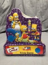 2000 The Simpsons Trivia Board Game 3D Collector Tin Edition New