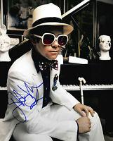 Elton John Autographed Signed 8x10  Photo REPRINT