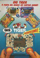 X4160 GIG TIGER - La carica dei 101 - Pubblicità 1990 - Advertising