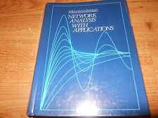 NETWORK ANALYSIS WITH APPLICATIONS - Stanley  1985   HC