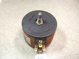 Powerstat 10B-1000 120V 2.25A 270VA Variac - No Knob No Dial - Tested!
