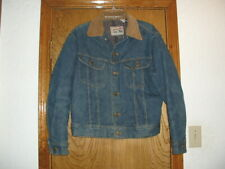 Lee Storm Rider Denim Jacket w/Indian Blanket Lining Made in USA
