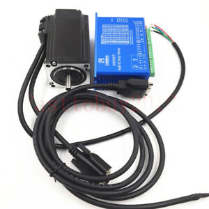 NEMA23 1NM Closed-Loop Stepper Encoder Motor 2ph + Driver Cables for CNC Router