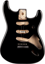 Fender Stratocaster SSS Alder Body With Vintage Bridge Mount Black #0998003706