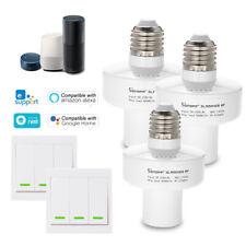Sonoff E27 Slampher WiFi Wireless Light Holder APP Smart Switch+433MHz RF Remote