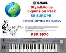 Yamaha PSR S970 Romania, Slovakia&Hungary Expansion Pack