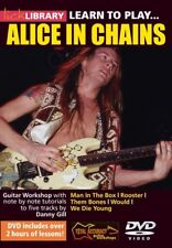 LICK LIBRARY - LEARN TO PLAY ALICE IN CHAINS GUITAR DVD