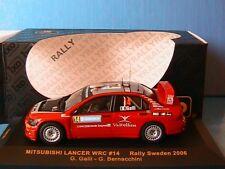MITSUBISHI LANCER WRC #14 RALLY SWEDEN 2006 GALLI BERNACCHINI IXO RAM236 1/43