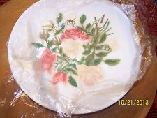 exquisite Mount Washington Glass Co handpainted plate  - LOOK!