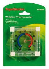Thermomètre de fenêtre à effet de serre conservatoires Conservatoire indooor outdoor