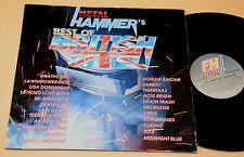 METAL HAMMER'S 2LP BEST OF BRITISH STEEL-TOP EX !!!!