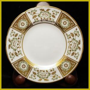 Royal Crown Derby Green Derby Panel 6 1/4 Inch Tea Plate - NEW !
