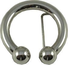 Retro Belt Buckle- Bull Ring