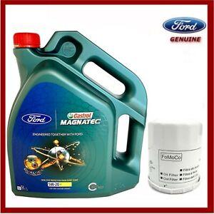 Genuine Ford Focus Ecoboost 1.0L 2014> Oil & Filter Service Kit
