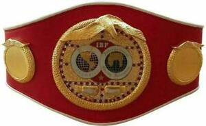New IBF International Boxing Federation Championship Belt Adult Size Replica WBC