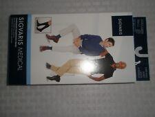 Sigvaris Medical Cotton White knee High Compression Socks, 30-40 mmHg, size LL
