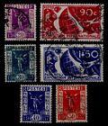 EXPOSITION de PARIS 1937, Oblitérés = Cote 17 € / Lot Timbres France 322 à 327