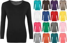 T-shirt, maglie e camicie da donna, taglia comoda multicolore basici