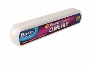 Bacofoil Professional EasyCut Dispenser Refill Cling Film 250m