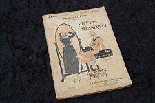 YETTE MANNEQUIN René MAIZEROY Collect. In Extenso Renaissance du livre illustré