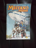 Collectable Vintage MECCANO MAGAZINE December 1956 Vol XLI NO 12 + Illustrated