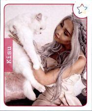 Sticker 95-Panini-webstars 2018 Girls-Kisu