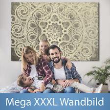 MANDALA XXXL muro immagine formato gigante tela DIY canvas immagine f-a-0625-ak-...