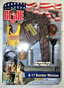 2003 Hasbro GI JOE B-17 Bomber Jacket with accessories