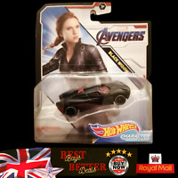 Hot Wheels Marvel Avengers Black Widow Car 1:64 Scale Die-Cast Vehicle NEW