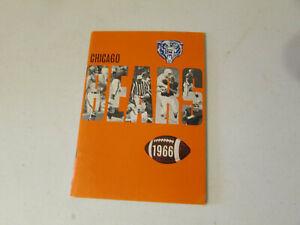 1966 Chicago Bears Football Media Guide