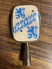 Rare Vintage Munich Lowenbrau Imported German Beer Tap Handle Made In Germany