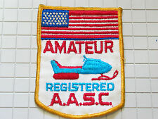 Amatuer Snowmobile Racing Patch (#4788 *)  (**)