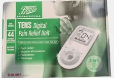 Boots Digital Tens Machine Muscular Back Sciatica Pain Relief.New, damaged box