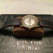 VINTAGE MENS WRIST WATCH. IN VERY GOOD CONDITION ,NEW STRAP