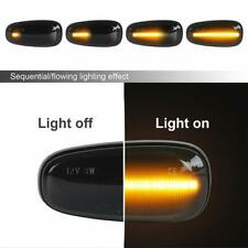 Smoked Lens For OPEL Astra G Corsa C Amber LED Side Marker turn signal Lights