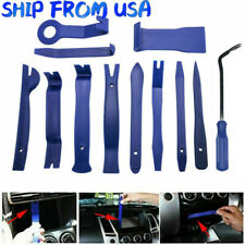 12pcs Blue Vehicle Trim Removal Tools Kits Car Dashboard Audio Door Window Panel