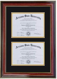 Double diploma frame RC-V 8x6,11x8.5,11x14,8x10,5x7,7x9,9x12,10x13,11x14,14x17
