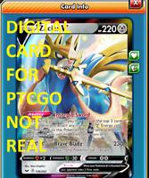DIGITAL Zacian V  pokemon tcg online