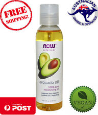 Now Foods Solutions Massage Oil Avocado Body Skin Lotion Oils 4fl Oz 118ml