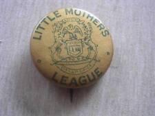 Vintage Little Mothers League The Whitehead & Hoag Co PINBACK